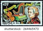 mali   circa 1981  a stamp... | Shutterstock . vector #264465473