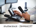 Dialing Telephone Keypad...