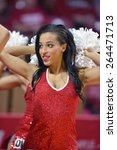 Small photo of PHILADELPHIA - MARCH 25: The Temple Diamond Gems dance team performs during the NIT quarterfinal basketball game March 25, 2015 in Philadelphia.