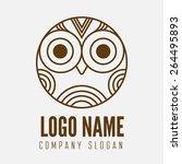 logo  label  badge  emblem or... | Shutterstock .eps vector #264495893