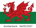 Постер, плакат: Wales coat of arms