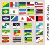 brasil.brazil symbols and... | Shutterstock .eps vector #264521687