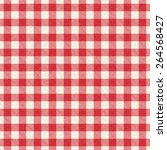 Red And White Textured Plaid...