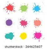 Colorful Paint Splat.paint...