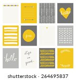 A Set Of 12 Templates For...