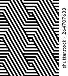 vector pattern  seamless... | Shutterstock .eps vector #264707633