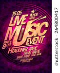 Live Music Event  Party Design...