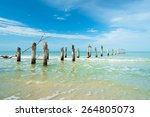 Rustic Decaying Pier Along For...