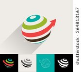 logo and abstract web icon...