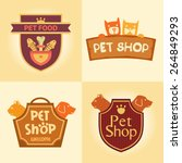 Set Of Vector Logos For Pet...