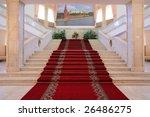 stairway inside luxury... | Shutterstock . vector #26486275