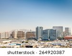 Stock photo panorama of las vegas nevada usa 264920387