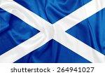 scotland   waving national...