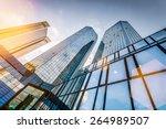 bottom view of modern... | Shutterstock . vector #264989507