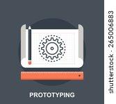 prototyping | Shutterstock .eps vector #265006883