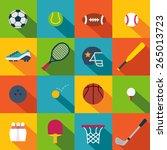sport icons | Shutterstock .eps vector #265013723