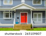 a nice entrance of a luxury... | Shutterstock . vector #265109807