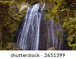 Water Falls Of Tropical...