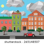 city | Shutterstock . vector #265148507