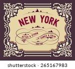retro design | Shutterstock .eps vector #265167983