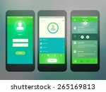 mobile screen interface design