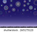 fireworks | Shutterstock .eps vector #265175123