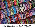 picture of a bracelet display... | Shutterstock . vector #265177067