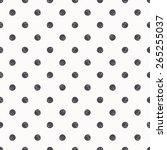 polka dot seamless pattern... | Shutterstock .eps vector #265255037