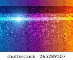 color abstract background | Shutterstock . vector #265289507
