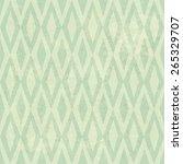 seamless vintage rhombus... | Shutterstock .eps vector #265329707