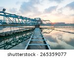 water treatment plant at morning | Shutterstock . vector #265359077