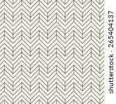 vector seamless pattern. modern ... | Shutterstock .eps vector #265404137