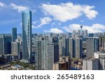 chengdu china city skyline | Shutterstock . vector #265489163