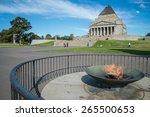 Eternal Flame In Front Of The...
