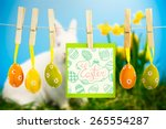 Happy Easter Graphic Against...