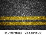 asphalt road texture with... | Shutterstock . vector #265584503