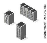 a vector illustration of...   Shutterstock .eps vector #265642403