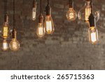 Decorative antique edison style ...