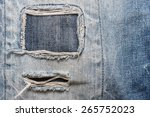 Vintage Torn Denim Jeans...