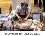 taipei ximending  taiwan  march ... | Shutterstock . vector #265901333