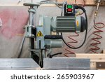 fixed circular buzz saw with... | Shutterstock . vector #265903967