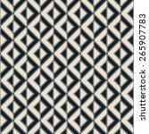 seamless diagonal geometric... | Shutterstock .eps vector #265907783