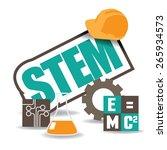 stem icon flat design. eps10... | Shutterstock .eps vector #265934573