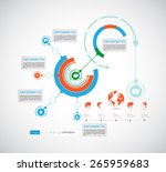 template for business... | Shutterstock .eps vector #265959683