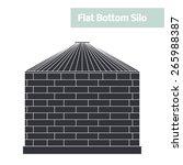 Flat Bottom Silo  Grain Storag...