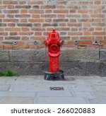A Closeup To A Red Fire Hydran...