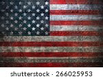 Usa Flag Textured United Stats...