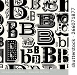 seamless vintage pattern of the ...   Shutterstock .eps vector #266071877