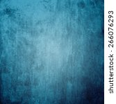 Grunge Blue Background With...