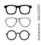 Set Of Retro Classic Glasses....